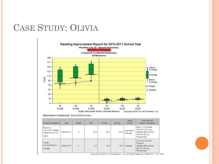 Case Study: Olivia