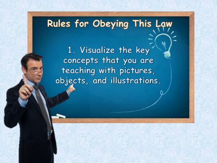 Rules for Obeying This Law
