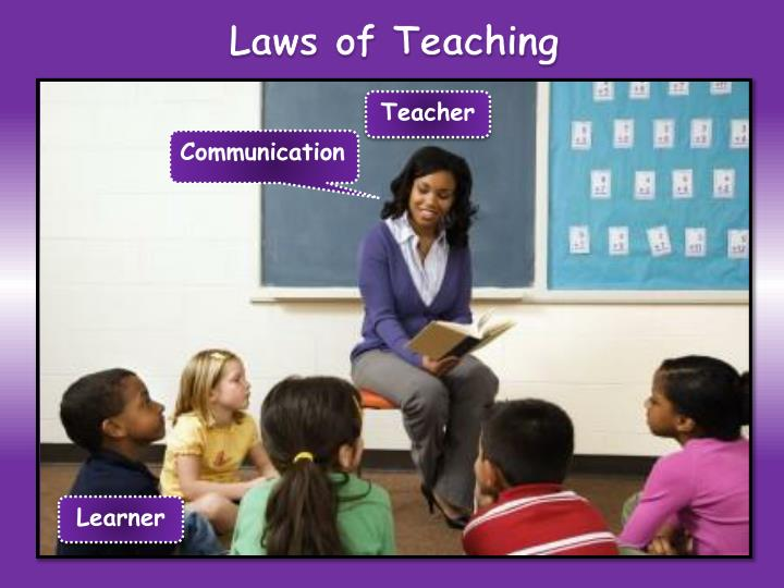 Laws of Teaching