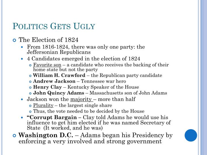 Politics Gets Ugly