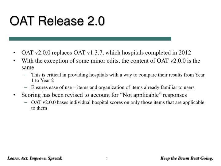OAT Release 2.0