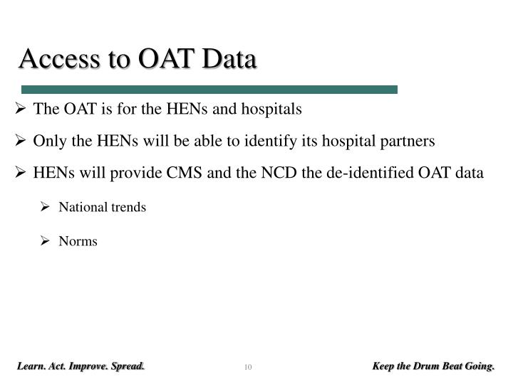 Access to OAT Data
