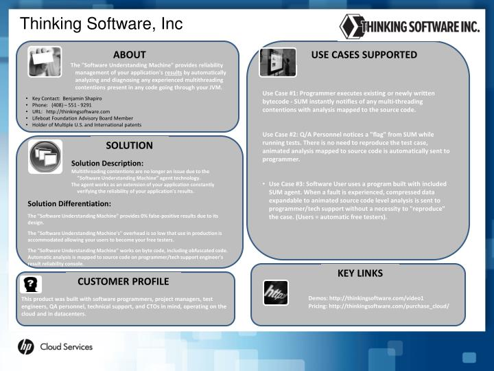 Thinking Software, Inc