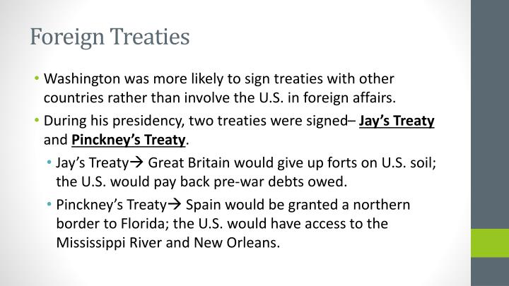 Foreign Treaties