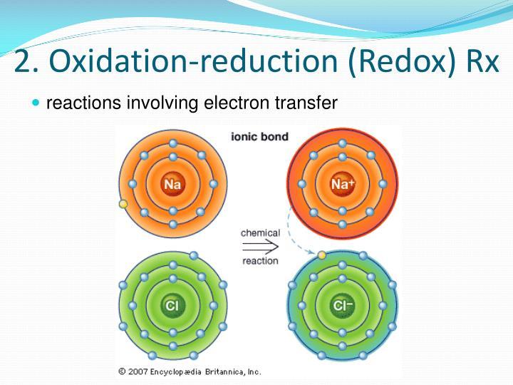 2. Oxidation-reduction (Redox) Rx