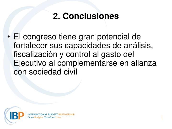 2. Conclusiones