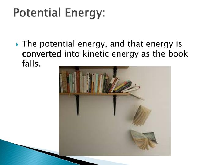Potential Energy: