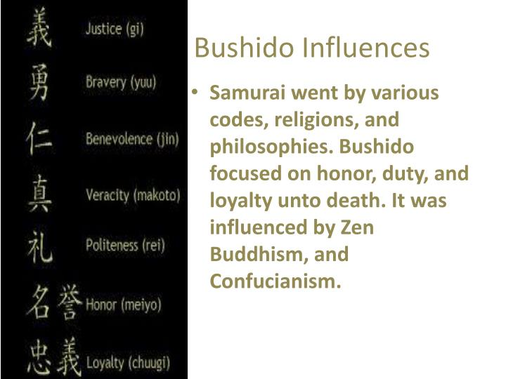 Bushido influences