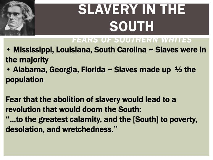 Slavery in the South