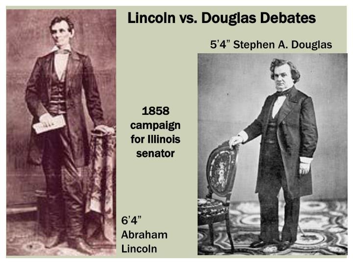 Lincoln vs. Douglas Debates