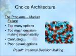 choice architecture