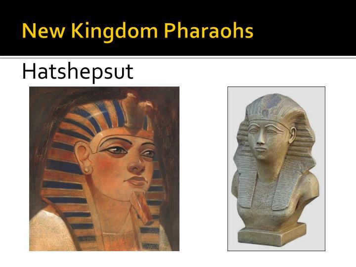 New Kingdom Pharaohs