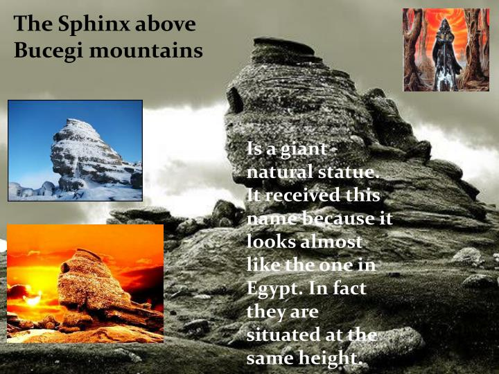 The Sphinx above