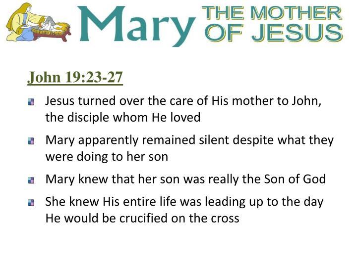 John 19:23-27