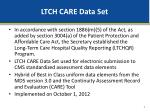 ltch care data set