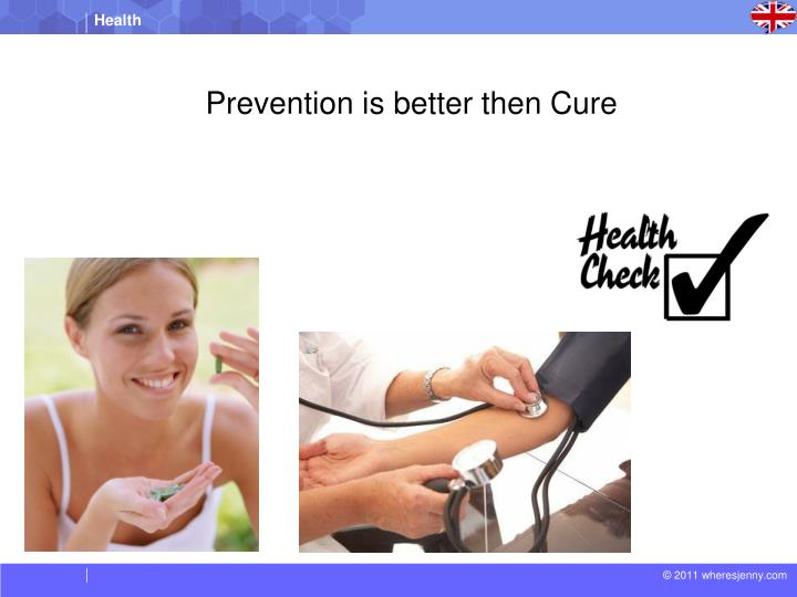 Prevention is better then Cure