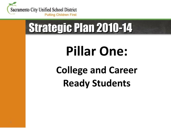 Strategic Plan 2010-14