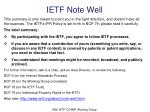 ietf note well
