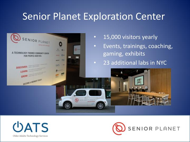 Senior Planet Exploration Center
