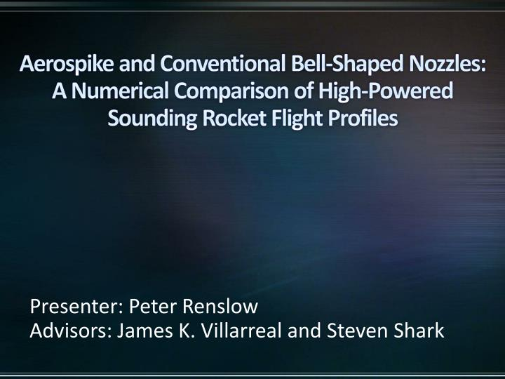 Aerospike and Conventional Bell-Shaped Nozzles: A Numerical Comparison of