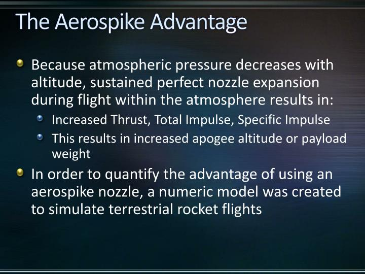 The Aerospike Advantage