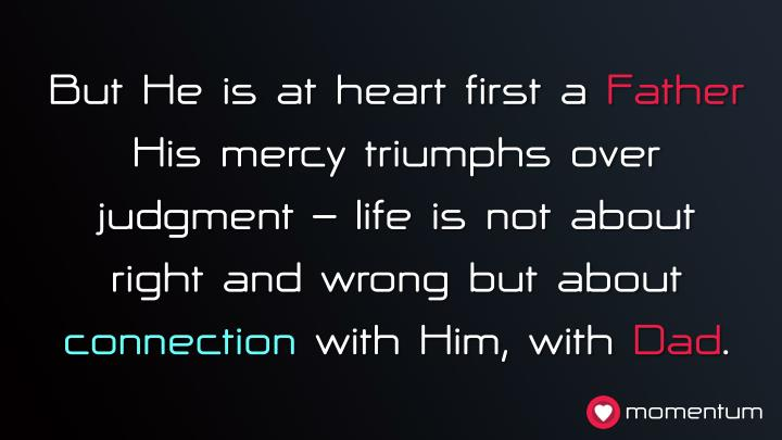 But He is at heart first a