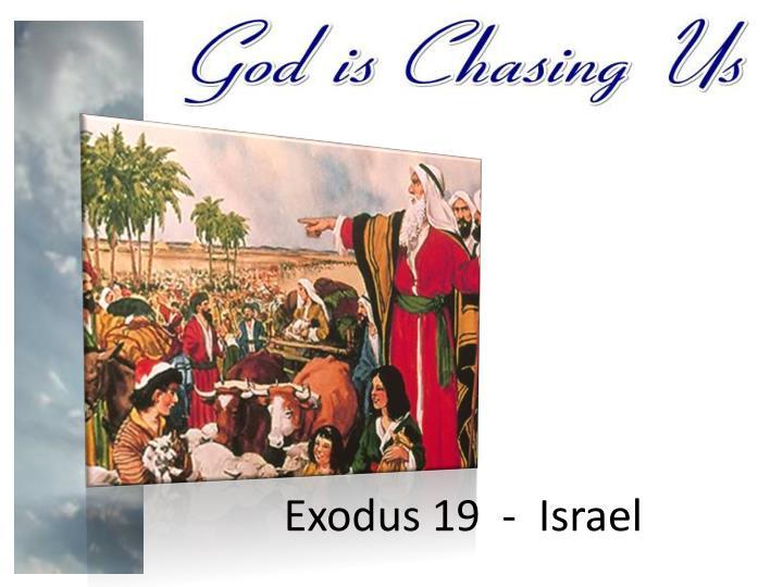 Exodus 19  -  Israel