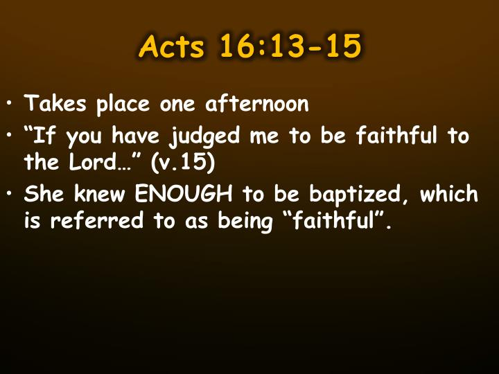 Acts 16:13-15