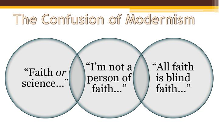 The confusion of modernism
