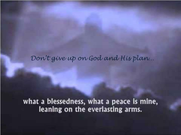Jesus Calmed Storm