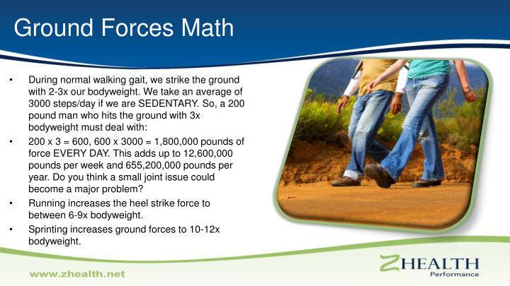 Ground Forces Math