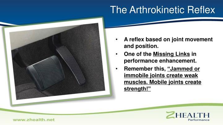 The Arthrokinetic Reflex