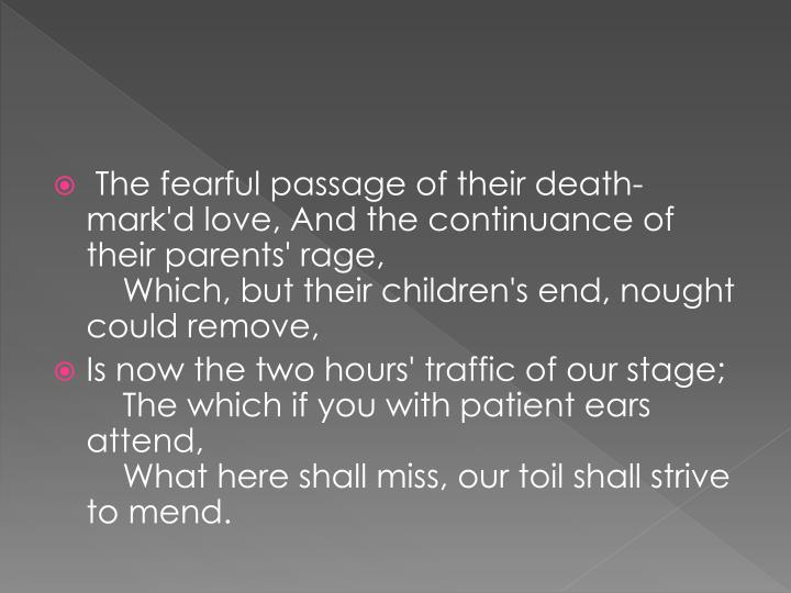 The fearful passage of their death-
