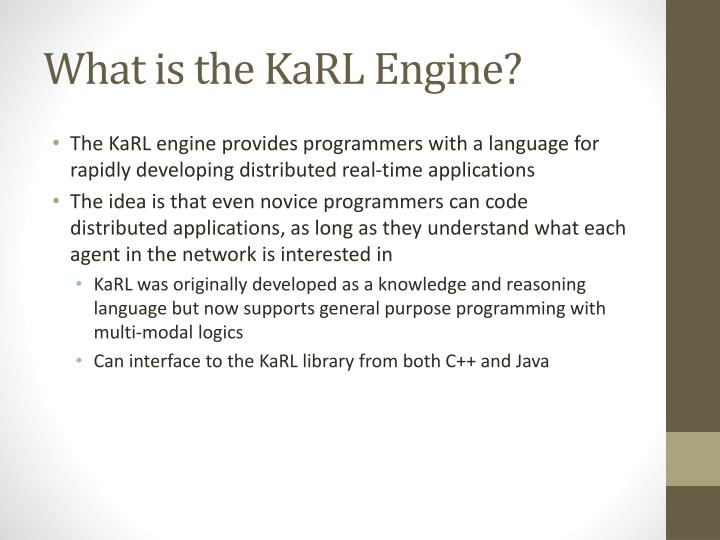 What is the karl engine