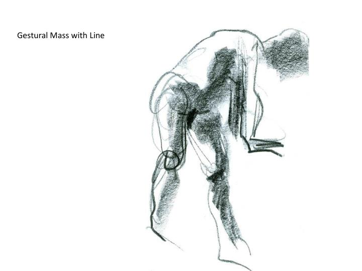 Gestural Mass with Line