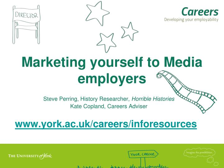 marketing yourself to media employers