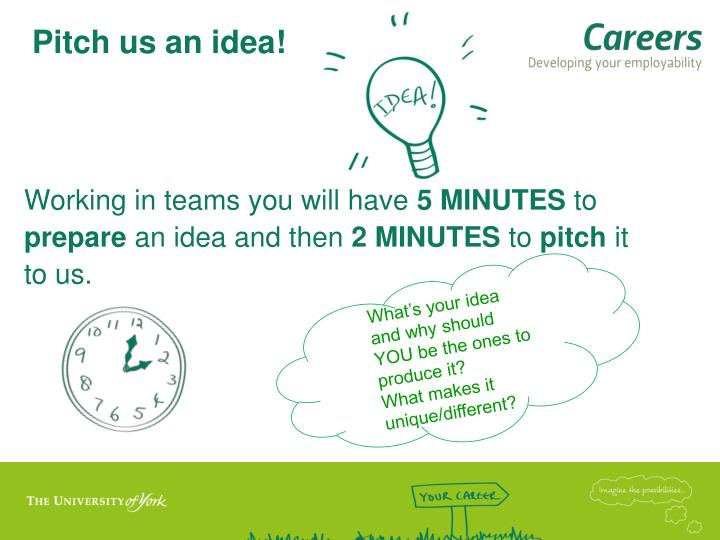Pitch us an idea!