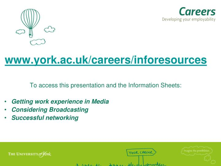 www.york.ac.uk/careers/inforesources