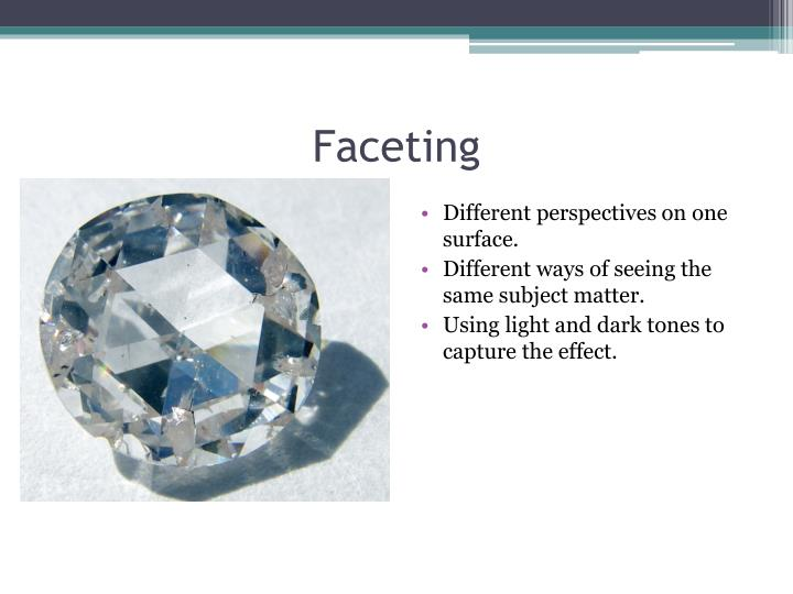 Faceting