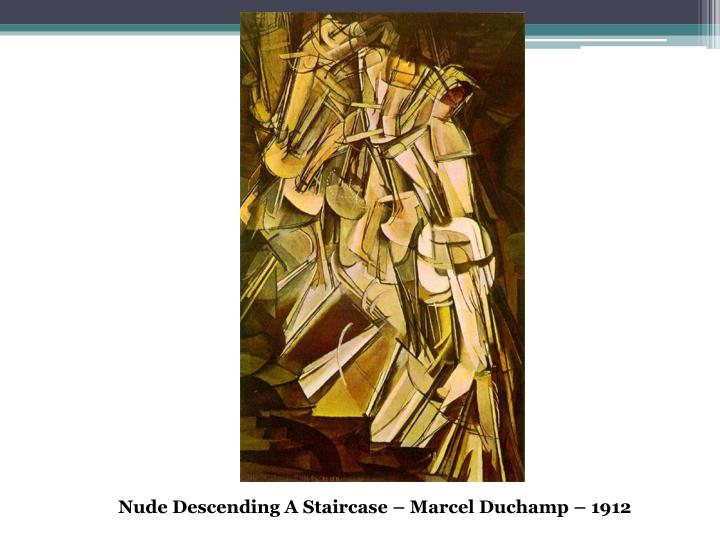 Nude Descending A Staircase – Marcel Duchamp – 1912