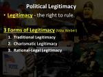 political legitimacy1