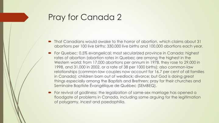 Pray for Canada 2
