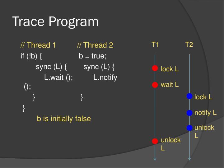 Trace Program