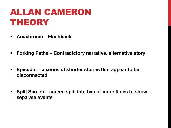 Allan Cameron Theory