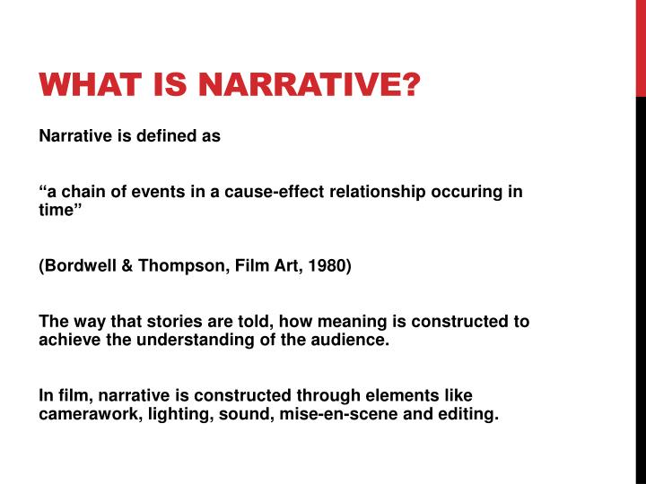 What is Narrative?