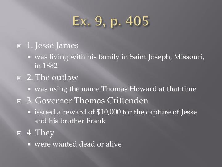 Ex. 9, p. 405