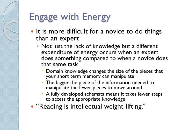 Engage with Energy