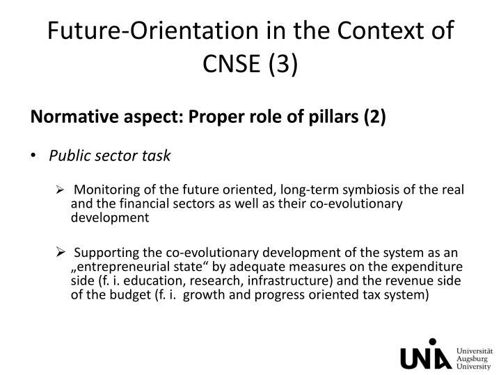 Future-Orientation in the