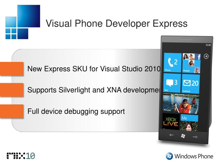 Visual Phone Developer Express