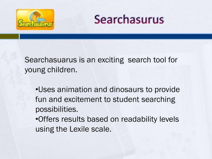 Searchasurus